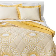 Extra bed in nursery: $15 Target Clearance Room Essentials® Karagraph Comforter Set