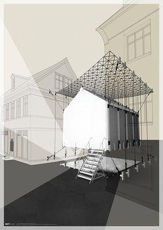 Room in between. Reykjavik, Iceland. Semester project. University of Liechtenstein.