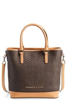 Dooney+&+Bourke+'Cara'+Snake+Embossed+Leather+Satchel+available+at+#Nordstrom