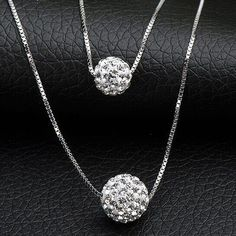 Just listed our new Starlight Sterlin... Check it out!  http://ladieswishlist.com/products/starlight-sterling-silver-double-necklace?utm_campaign=social_autopilot&utm_source=pin&utm_medium=pin