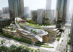 China World Trade Center Phase 3C by Aedas in Beijing, China