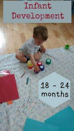 Typical baby/toddler development at months Typical baby/tod 18 Month Old Activities, Toddler Learning Activities, Baby Learning, Infant Activities, Preschool Activities, Gross Motor Activities, Preschool Age, Indoor Activities, Toddler Development