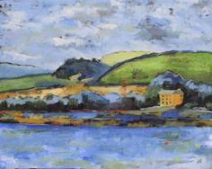 """Saatchi Art Artist Andrew Francis; Painting, """"Bryn-y-mor 4"""" #art"""