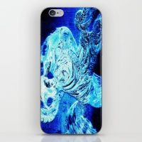 Dancing in the underground lake iPhone & iPod Skin