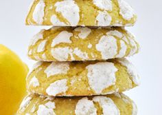 Naturally dairy free, these scrumptious Lemon Olive Oil Crinkle Cookies are perfect for any occasion. Light and slightly chewy, make a double batch as the dough will keep in the freezer for up to a month. Cookie Recipe With Oil, Cookie Recipes, Snack Recipes, Easy Chinese Chicken Recipes, Lemon Crinkle Cookies, Lemon Olive Oil, Recipe Search, Crinkles, Baked Goods