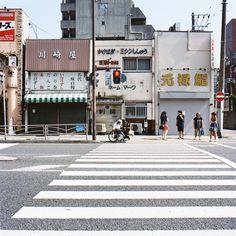 Yokohama, Japan by Masaaki Miyara Japan Street, City Aesthetic, Travel Aesthetic, Japanese Aesthetic, Japan Photo, Japanese Streets, Aesthetic Drawing, Imagines, Yokohama