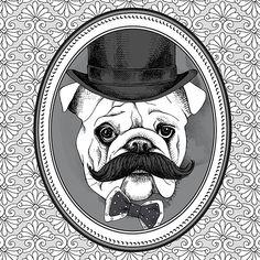 Картинки с животными в хипстерском стиле (25 шт.) | Скрапинка - дополнительные материалы для распечатки для скрапбукинга