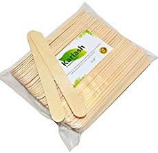Karlash 100 Pieces Large Wax Sticks, Wood Waxing Craft Sticks Spatulas Applicators for Hair Removal Eyebrow and Body Popsicle Stick Crafts, Craft Stick Crafts, Craft Sticks, Popsicle Party, Diy Nativity, Oatmeal Soap, Construction Birthday, Gross Motor, Soap Recipes