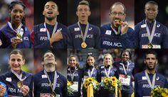 Toutes les médailles d'or de Zurich pardon pour les autres vous êtes tellement nombreux on pourrait faire un match de foot avec vous tous on aurait m^me des remplaçants !! Qui aurait cru cela   à l'époque où on compyait que 3 4 médailles  tout juste une en or dans ce type de compet ?