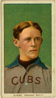 It's Chicago vs. New York, With a Nod to Fred Merkle - The New York Times. Dan Barry //(A baseball card of the Cubs' Johnny Evers. Credit American Tobacco Company/ Benjamin K. Edwards Collection, Library of Congress )