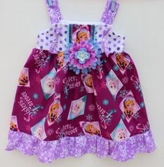 Disney Frozen Sisters Forever Knot DressSize 2T by WildOliveKids, $35.00