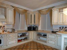 Шторы для кухни - лучшие фото дизайна штор на кухню