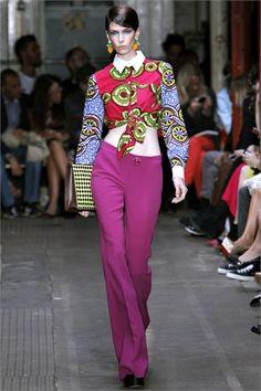 Moschino Cheap & Chic S/S 2013, London Fashion Week