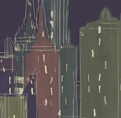 Painterly City With Cinema 4D's Sketch & Toon Tutorial - Motion And Design #motiondesign #Cinema4D