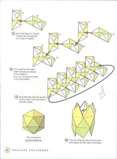 origami poliedro para iniciantes