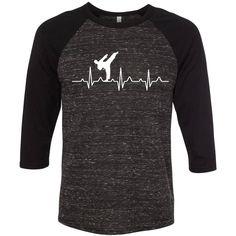 Karate Heartbeat, Mixed Martial Arts Shirt, Karate Gift, Mixed Martial Arts Gift, Martial Arts Gift, Custom Shirt, Mens Karate Gift, Karate by ABdesignsCoUS on Etsy
