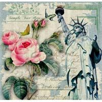 Vintage Lady Liberty and Roses Background ~ Gallery. Shabby, Gif Animé, Printable Paper, Pretty Pictures, Vintage Photos, Painted Furniture, Embellishments, Vintage Ladies, Craft Projects