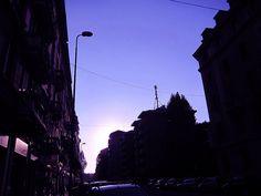 Milano - via Forze armate - pomeriggio
