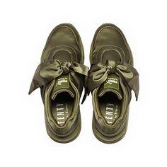 bf52e5531a9896 FENTY Puma x Rihanna Women s Satin Bow Sneakers Shoes - Bloomingdale s