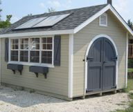 Not Just A Shed A Storage Solution The Factor 8x8 Shed