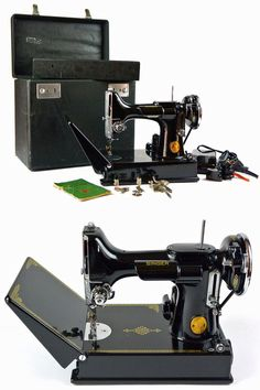 I would love to own a singer featherweight some day in any color I could find!!