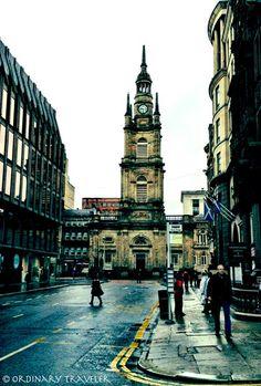 Glasgow, Scotland. Roen's home.