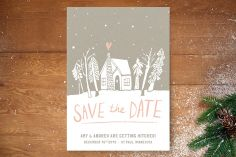 Cabin Love Save the Date Cards by Jess Taich at minted.com