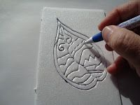 printmaking: styrofoam printmaking tutorial