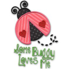 KMD-Applique Lovebug