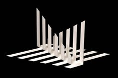 Concreção 5949, alumínio pintado, 48x31x40cm, 1959 Architecture Memes, Conceptual Architecture, Origami Architecture, Maquette Architecture, Paper Structure, School Murals, Window Display Design, Origami Paper Art, Elements Of Design