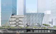 Hudson Yards' art center The Shed