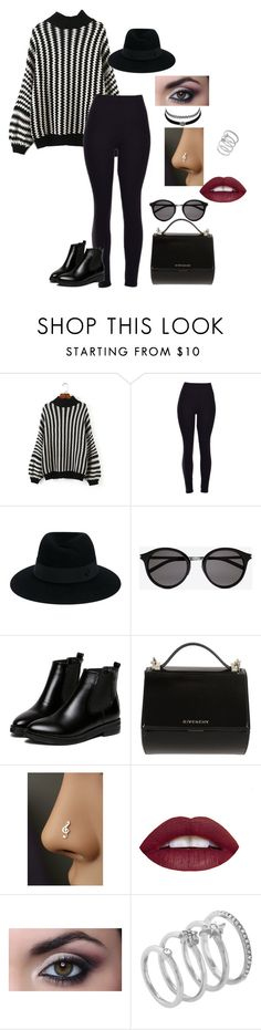 """Untitled #130"" by slayedbyk on Polyvore featuring Maison Michel, Yves Saint Laurent, WithChic, Givenchy, Charlotte Russe and Vince Camuto"