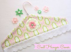 Coat Hanger Cover {Tutorial} - A Spoonful of Sugar