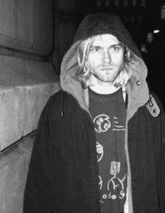 Kurt Cobain, leader through the 90s