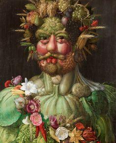 De kunst van tuinieren van Giuseppe Arcimboldo.