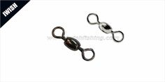 Nickle ,Black Nickle Polished Crane Swivel -Snap Fishing