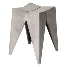 Lyon Beton Concrete Stool Bridge ($330) ❤ liked on Polyvore featuring home, furniture, stools, grey outdoor furniture, cement furniture, outdoor furniture, outdoor stools and gray furniture