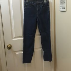 Charter Club jeans Charter Club blue jeans. Sits at waist. Straight leg. Size 6 short. Gently worn and in great condition. Charter Club Jeans Straight Leg