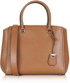 c11c3f1dde41 Michael Kors Soft Polished Leather Benning Large Satchel Bag Satchel Bag,  Handbags Michael Kors,