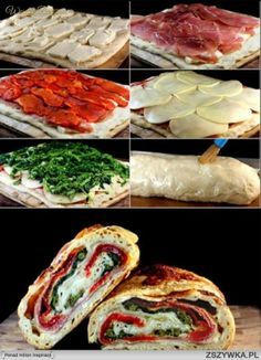 Stuffed Bread.