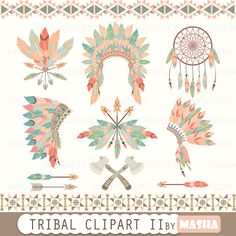 Tribal clipart: \