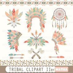 Tribal clipart: \