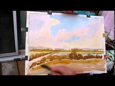 Watercoloring class three - YouTube