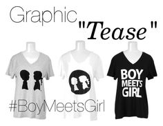 """""""Graphic Tease"""" by boymeetsgirlusa ❤ liked on Polyvore"""