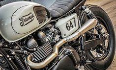 Ideas For Classic Road Bike Motorbikes Triumph Cafe Racer, Triumph Bikes, Cafe Racer Motorcycle, Motorcycle Style, Triumph Motorcycles, Triumph Scrambler, Triumph Bonneville, Motorcycle Quotes, British Motorcycles