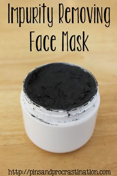 Impurity Removing Facial Mask (starring essential oils ;) )