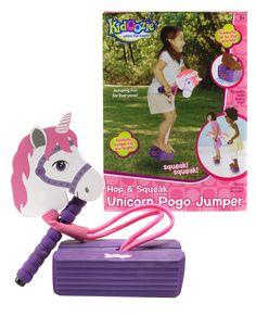 Kidoozie Unicorn Foam Pogo Jumper - gifts for kids