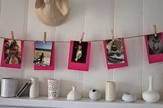 Cute Après Fête baby shower - I like this game idea too! Have each guest bring a baby picture of themselves, and award a prize to the guest who matches the most pictures/people.