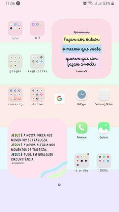 Iphone 3, Phone Organization, Conception, App Icon, Homescreen, Ios, Wallpapers, Smile, Instagram