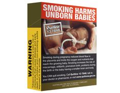The Australian cigarette packet that puts you off smoking